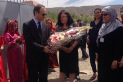 Visite de M. Zvonimir FRKA PETEŠIĆ, Ambassadeur de Croatie au Maroc au foyer d'Imintanout