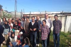 Visite des membres des Clubs Rotary & Rotaract Rabat Chellah aux foyers du CSSF à Kénitra
